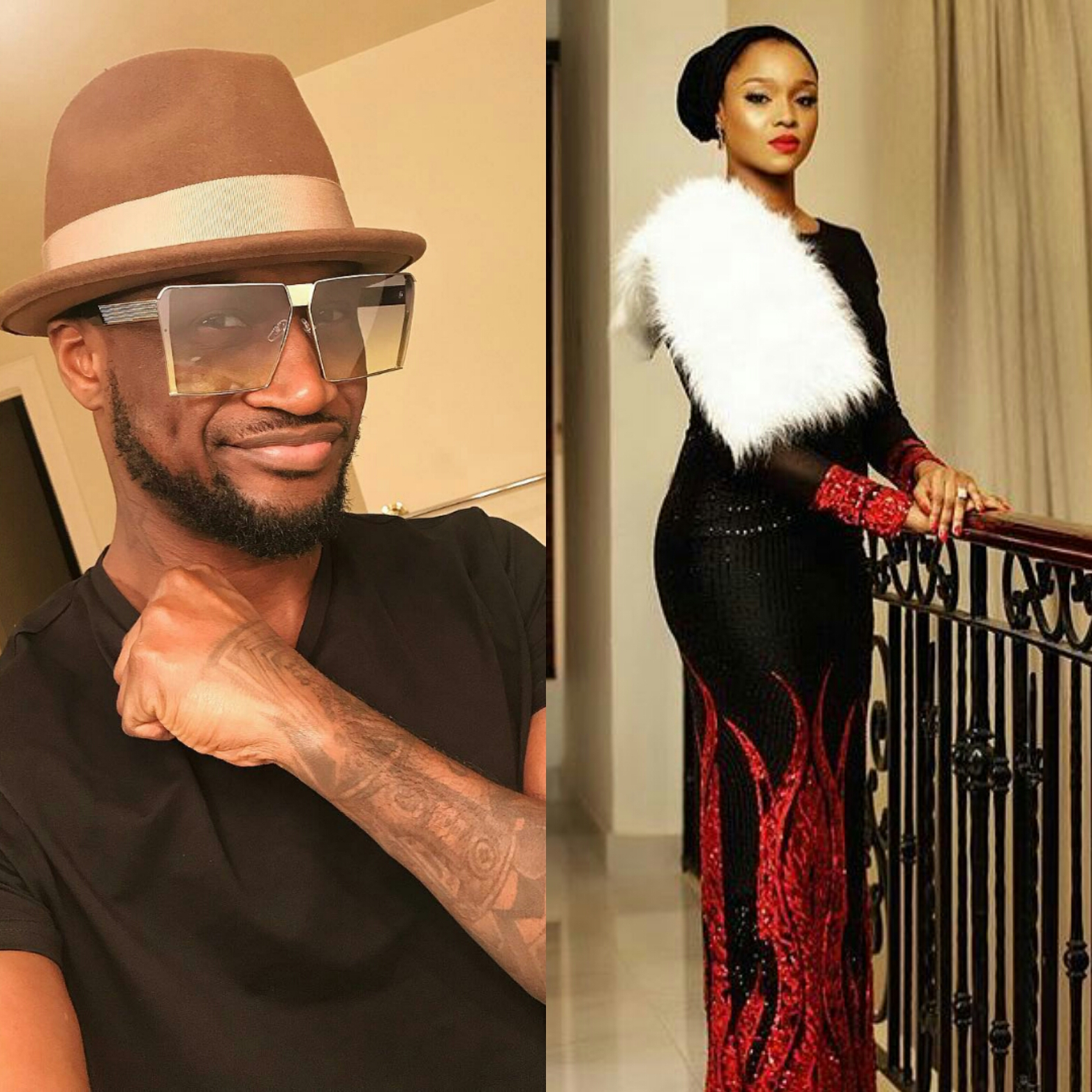 Peter Okoye celebrates sister-in-law, Anita on her birthday today