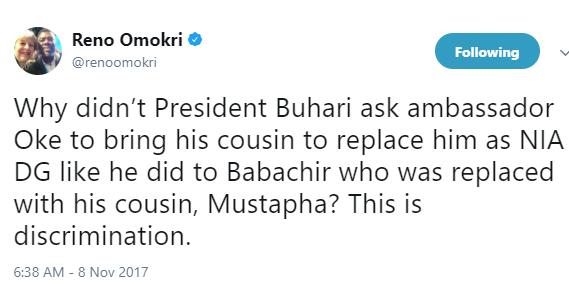 Reno Omokri has a question for President Buhari...