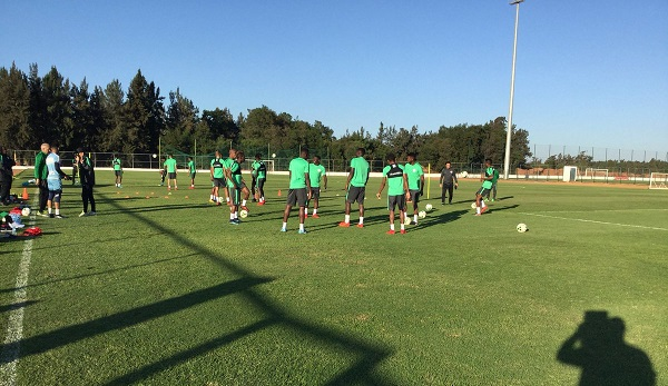 2018 World Cup qualifiers: Super Eagles hold first training session ahead of Algeria and Argentina games (Photos/Video)