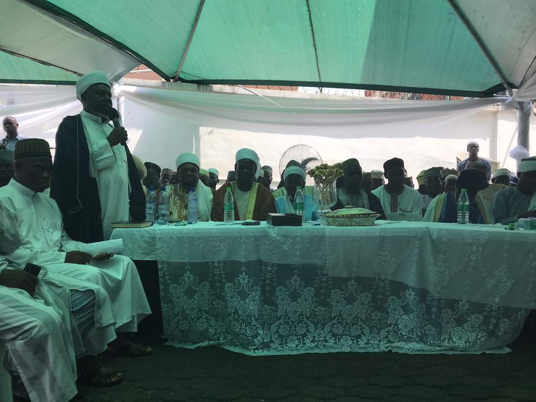 Photos from the 8th day fidau prayer for late Bola Tinubu