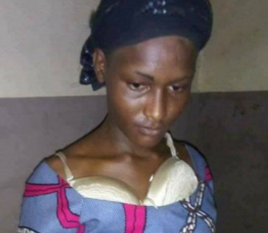 Photos: Another young man who dresses up as a woman arrested and paraded in Niger state