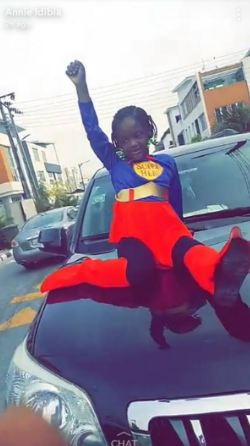 Annie Idibia shares adorable photos of her kids dressed up as their favorite super hero character