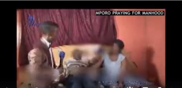 SA Pastor Mboro prays for man