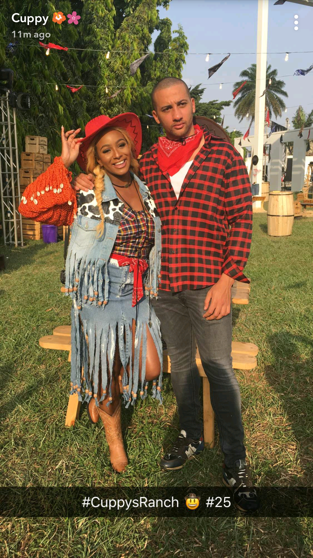 Photos: Billionaire daughter, DJ Cuppy throws a Ranch themed 25th birthday party at her father