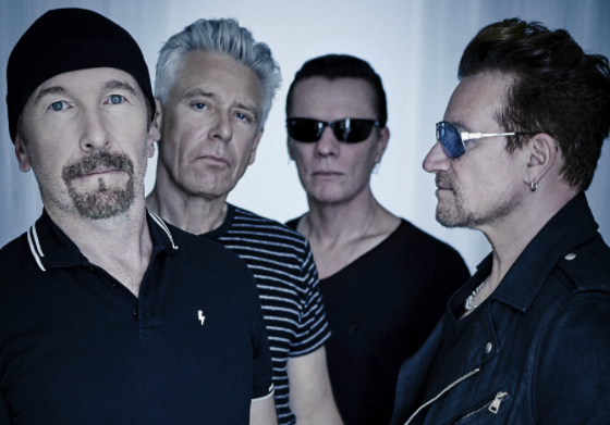 Irish rock band, U2?to be proclaimed as ?global icon? at the 2017 MTV EMAs