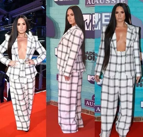 Demi Lovato, Paul Pogba, Stefflon Don; Red carpet photos from MTV?EMAs 2017