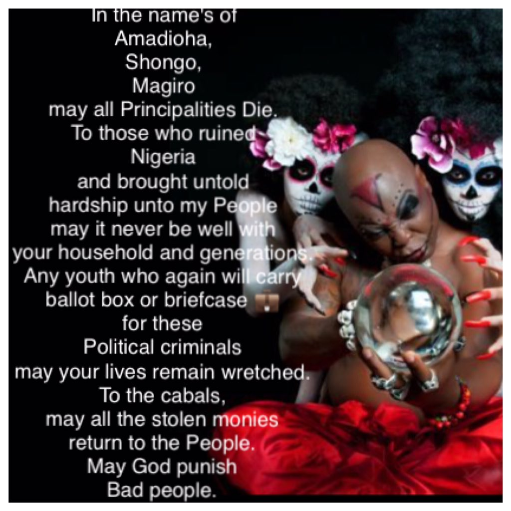 Charly Boy lays curse on those who have contributed to ruining Nigeria