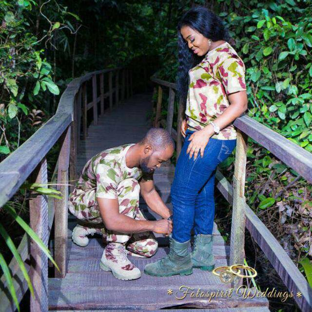 Handsome Nigerian soldier dies in a fatal accident few weeks to his wedding