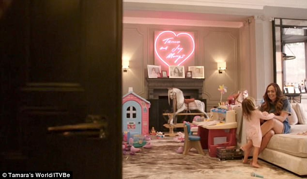 Inside the playroom of the granddaughter of former Formula One chief executive, billionaire Bernie Ecclestone