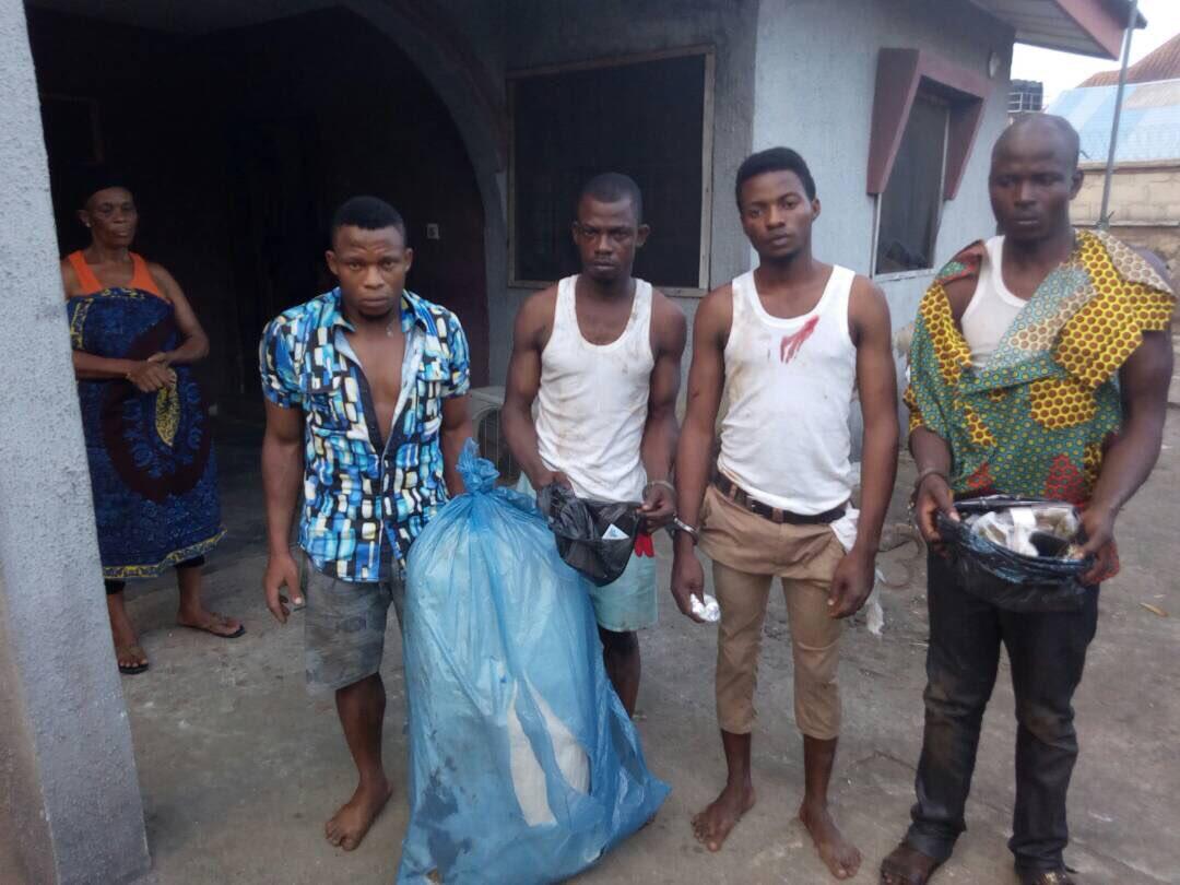 Photos: Nigerian Army apprehend IPOB members canvassing against Saturday