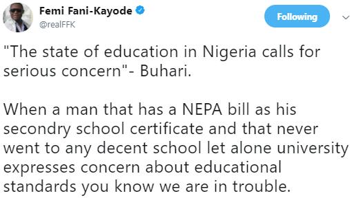 FFK, Reno Omokri react to President Buhari