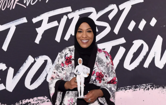 Barbie makes first hijab-wearing doll in honour of Olympian Ibtihaj Muhammad