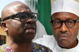 Governor Fayose criticises President Buhari for supporting Governor El-Rufai