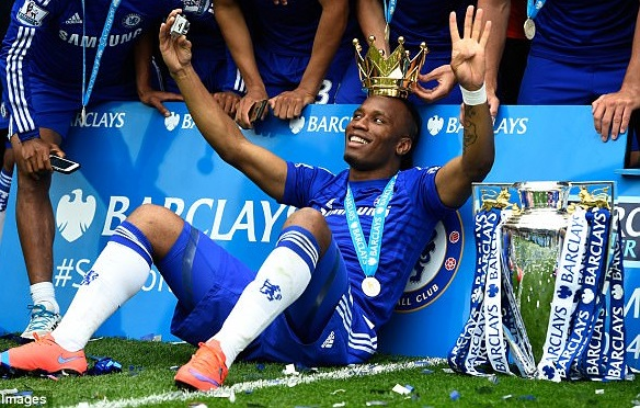 Chelsea legend, Didier Drogba  retiring from football at the end of the season
