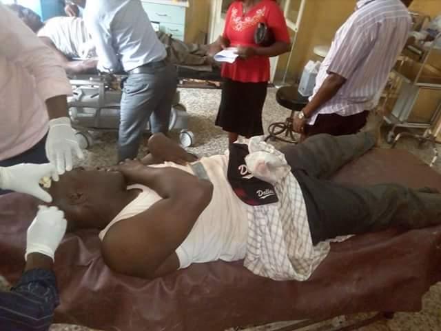 Photos: 8 injured as gunmen attack passenger boat along Keme-Ebiama/Ogboinbiri waterways in Bayelsa