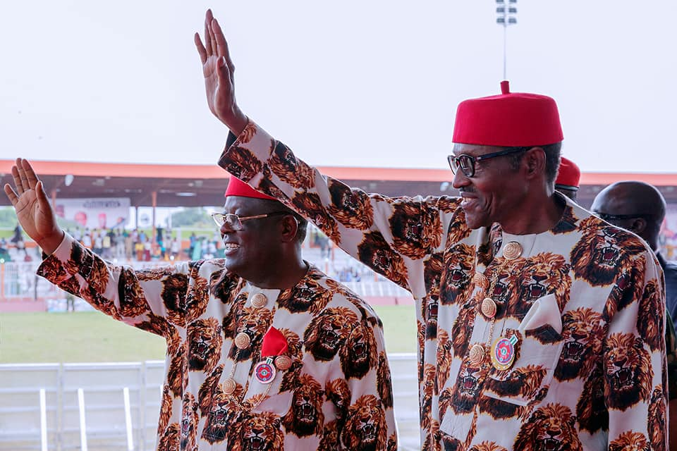 Full text of the speech delivered by President Buhari in Ebonyi State