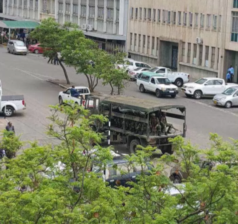 UK and US embassies in Harare issue statement on potential military coup in Zimbabwe