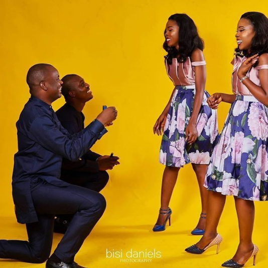 Wawu! Beautiful Twin Sisters Set To Wed The Same Day. Released Beautiful Pre-wedding Photos.