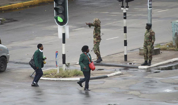 Photos of what Zimbabwe looks like today following military takeover