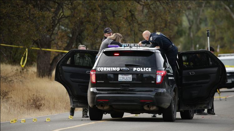 5 dead after a gunman sprays bullets into a school while terrorizing a Northern California town