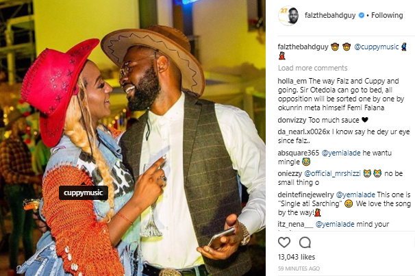 Dear Falz & DJ Cuppy, should we be expecting a romantic relationship between you both in the future?