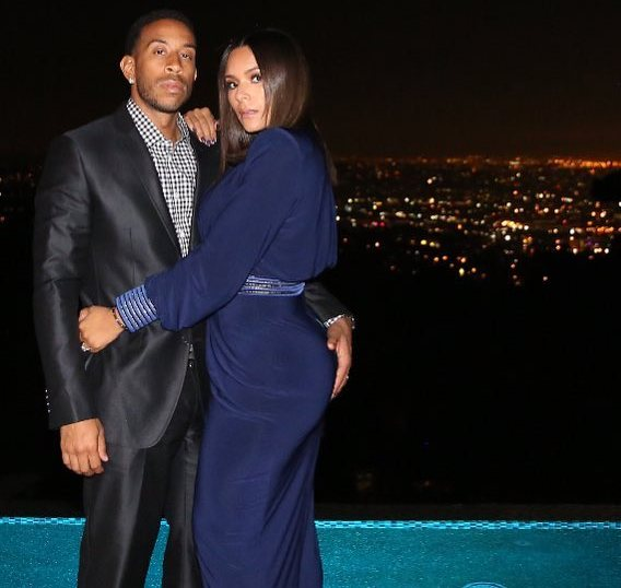 Ludacris grabs wife