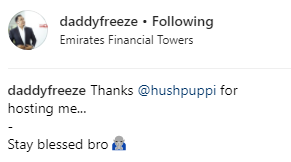 Huspuppi hosts Freeze in Dubai as they both flaunt their expensive wristwatches (photos)