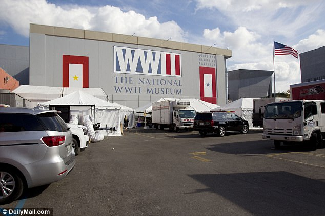 Check out the venue for Serena Willaims