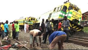 Many feared dead as train derails in Agege, Lagos