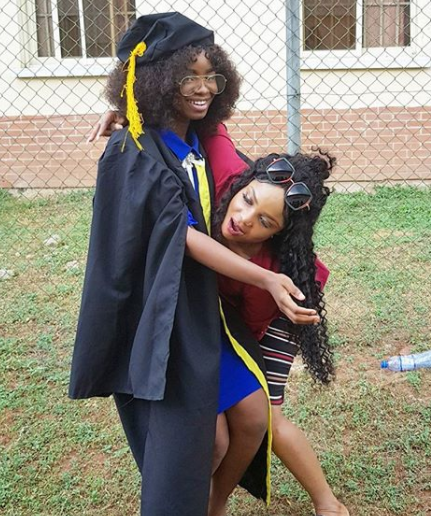 Iyabo Ojo shares photos with her daughter as she celebrates her matriculation