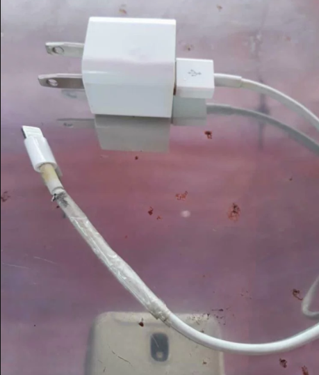 Teenager dies after rolling onto broken iPhone cable in her sleep