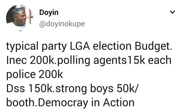 This is how an LGA election is rigged according to Doyin Okupe