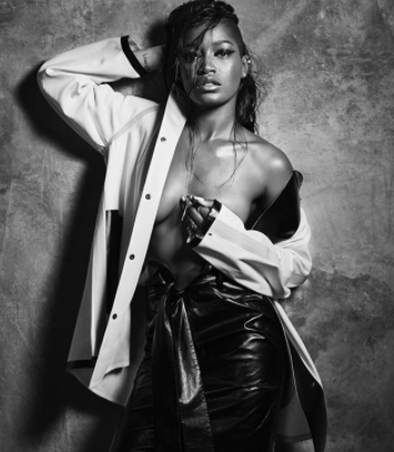 Former Child actor, Keke Palmer shares racy photo online with a message!