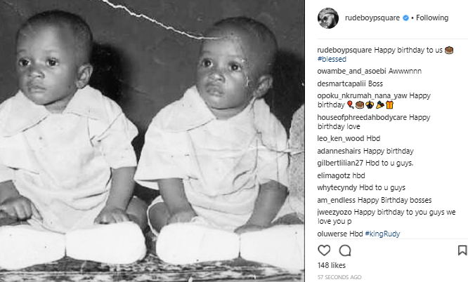 Paul Okoye also celebrates himself & estranged twin brother, Peter on their birthday today