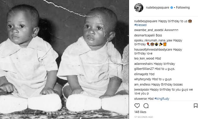 Paul Okoye also celebrates himself & estranged twin brother