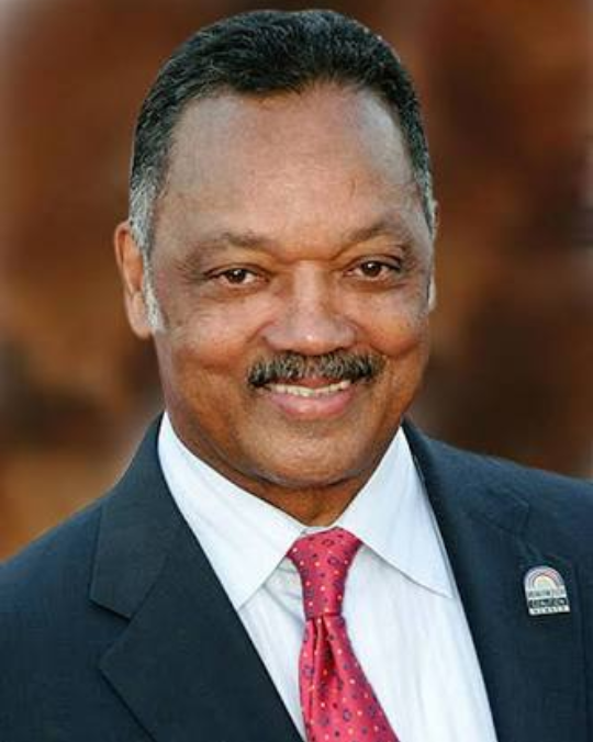Civil rights leader, Rev. Jesse Jackson reveals he