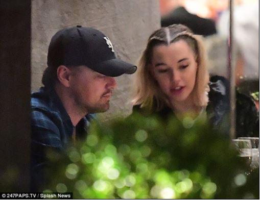 Leonardo DiCaprio, 43, hangs out with Jaden Smith