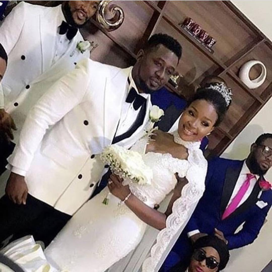 Photos: Nollywood actor Daniel K Daniel & beauty blogger, Tina wed in Lagos