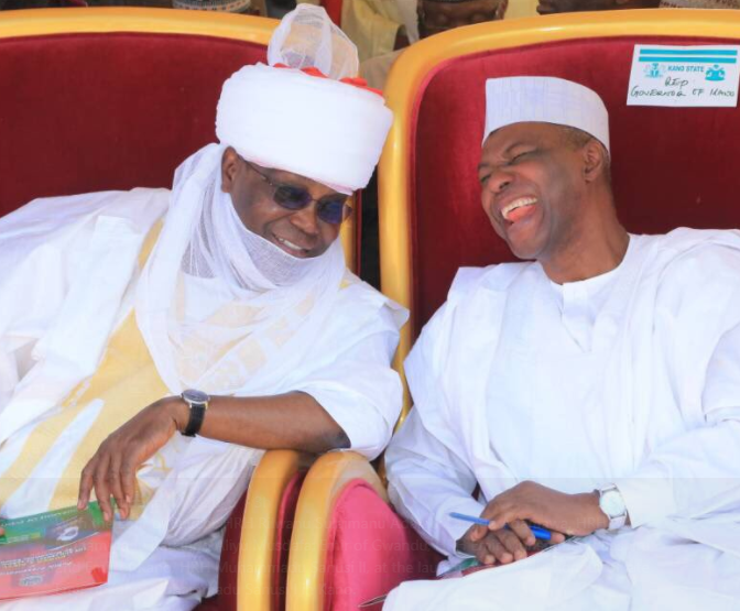 Photos: Atiku Abubakar attends book launch in honour of late Emir of Kano, Muhammadu Sanusi?in Kano