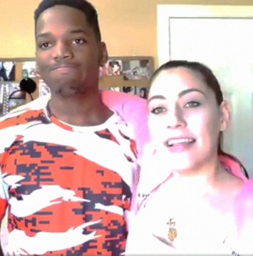 Interracial YouTube couple come under fire after shooting offensive video titled