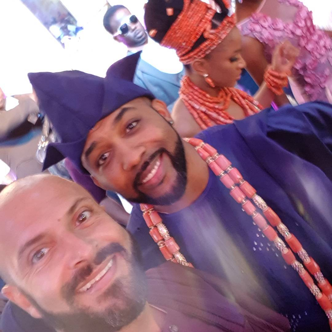 BankyW unveils his bride, Adesua Etomi at their traditional wedding, more photos