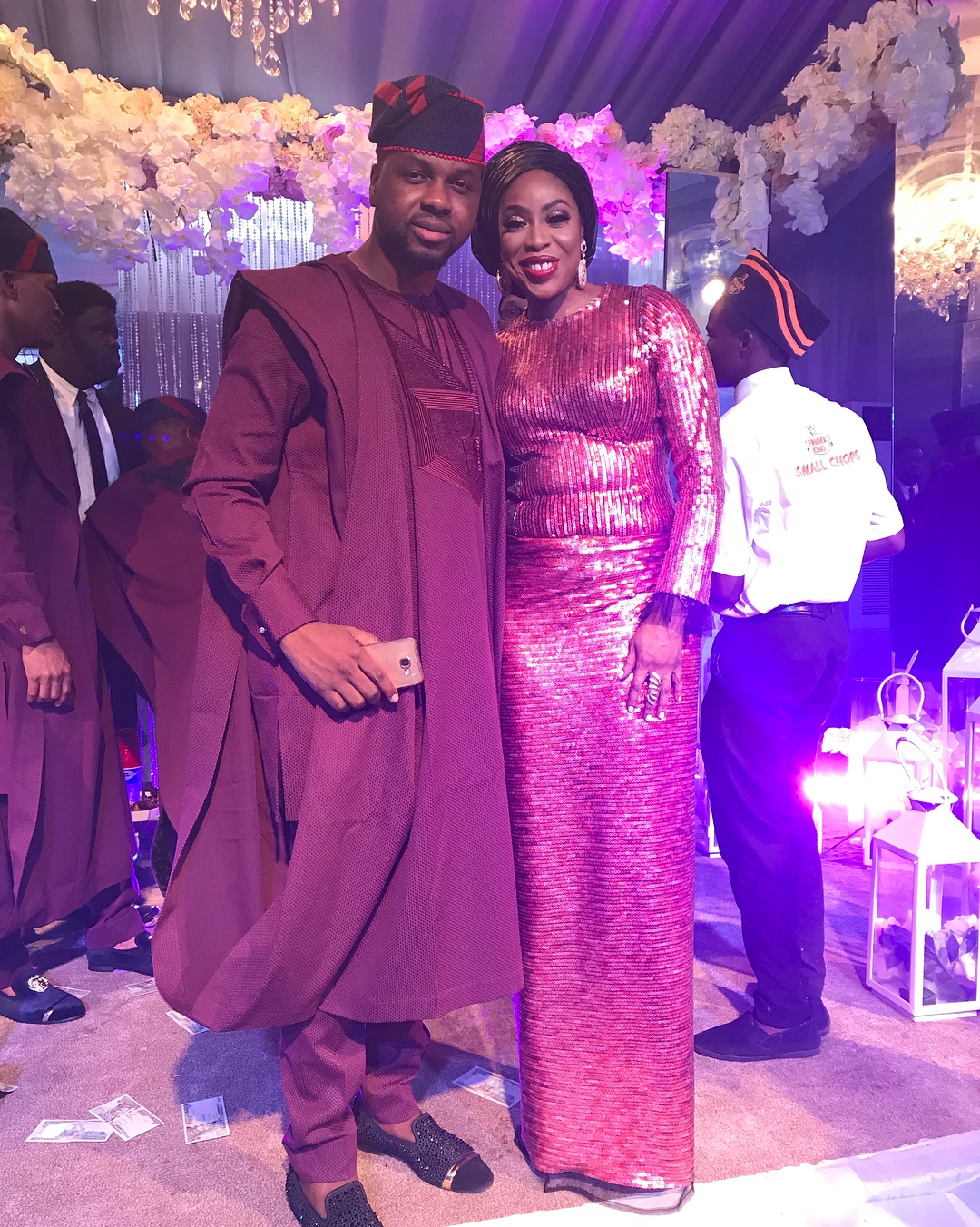 More photos: Sola Sobowale, Mo Abudu, Rita Dominic, Stephaine Coker, Toke Makinwa and more came out to slay at BankyW & Adesua