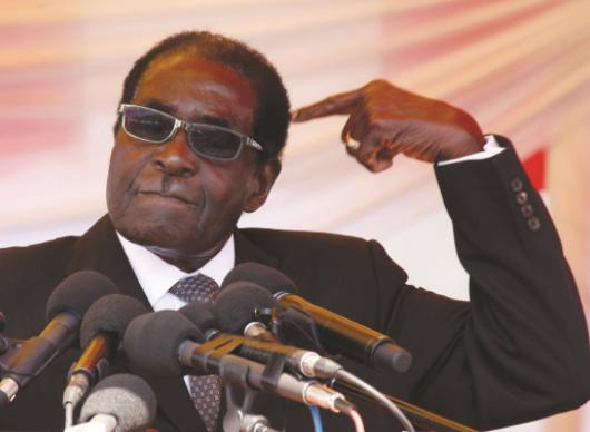 Robert Mugabe addresses the nation in a lengthy speech but he didn