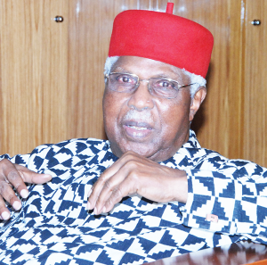 Ex-VP, Alex Ekwueme dies at 85