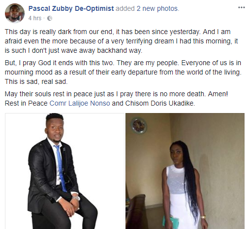 Vibrant young man dies one month after graduating from University of Abuja