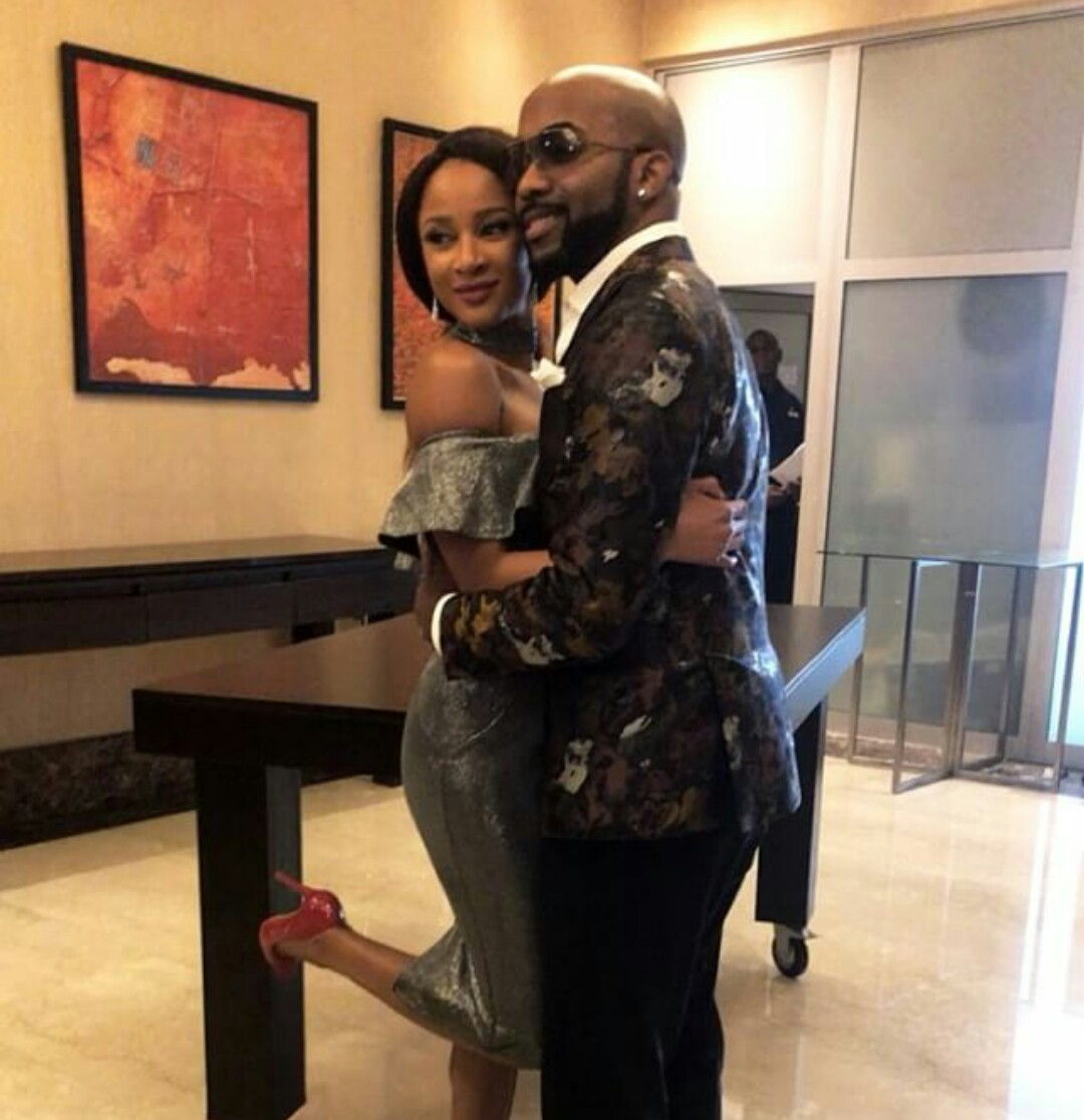 Photos: BankyW and his wife, Adesua Etomi are now legally married...they just signed the papers this afternoon!