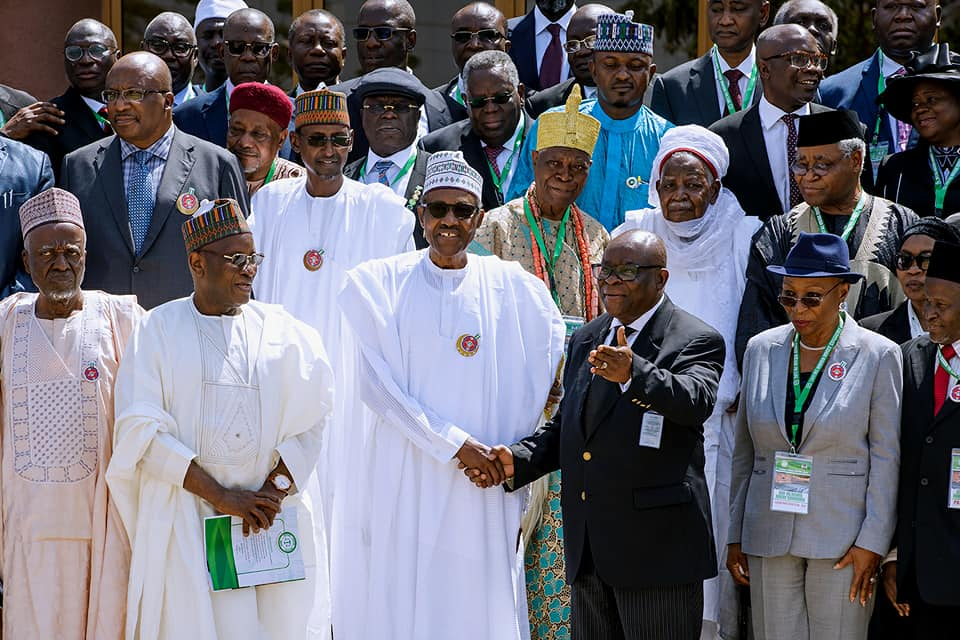 Photos: President Buhari officially declares open the 2017 All Nigeria Judges Conference in Abuja