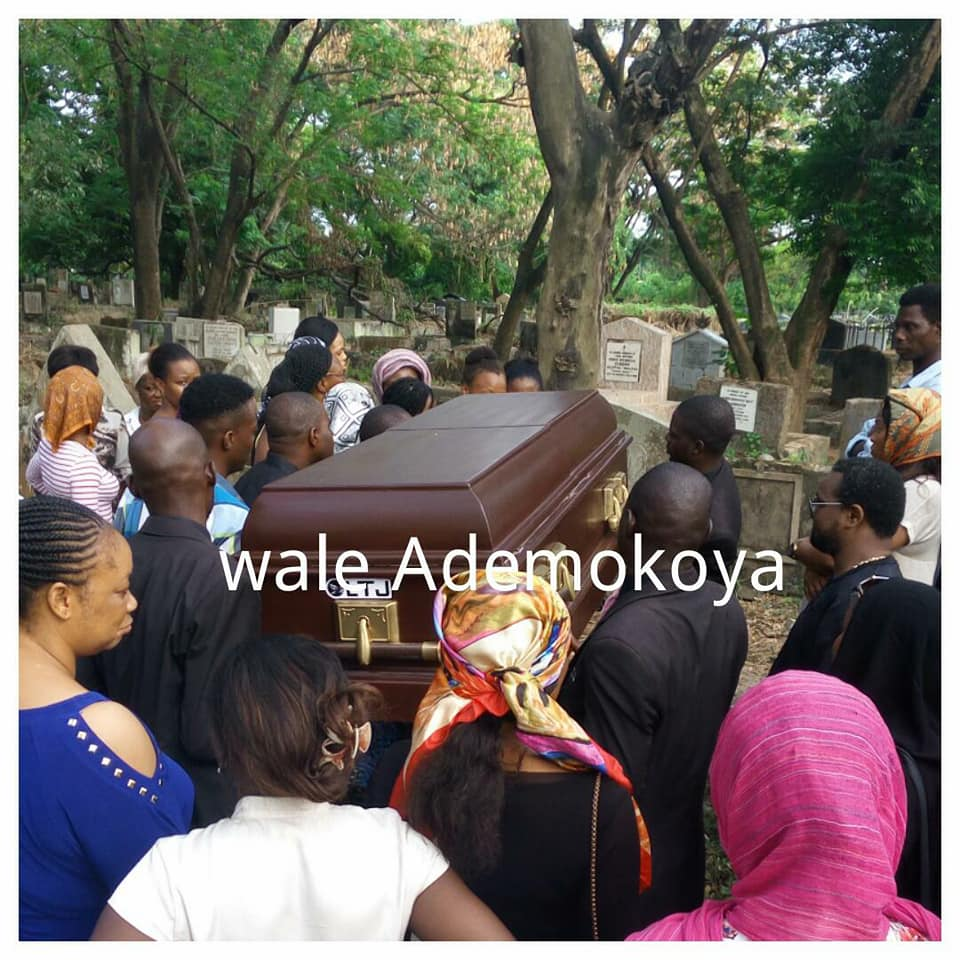 Photos from the funeral of popular Lagos-based makeup artist, Yewande Peregrino