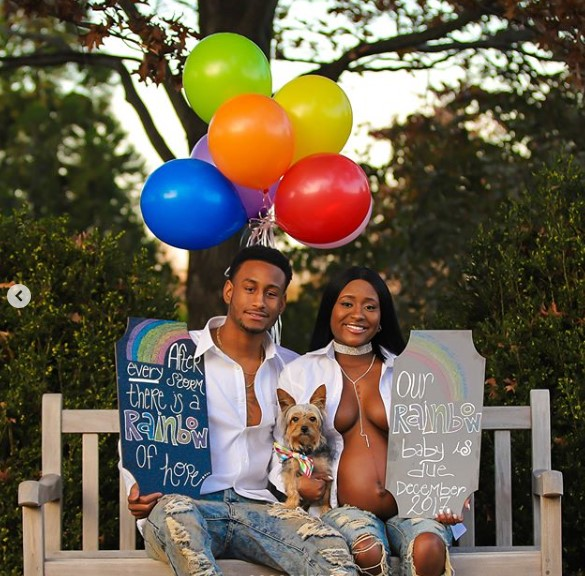 Check out this creative maternity photoshoot
