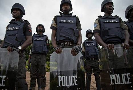 Five policemen including superintendent apprehended for vandalising electric installation